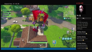 Playing Fortnite Battle Royale Duos