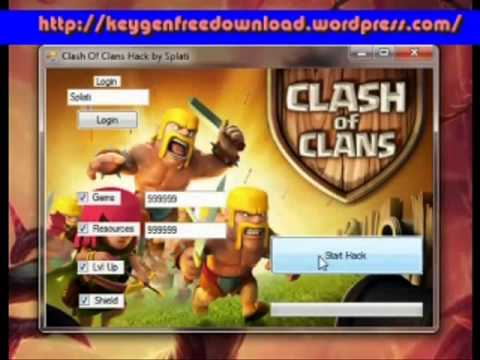 clash of clans hack 2013 free download