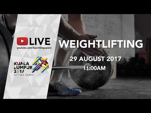 Men's Weightlifting under 69kg final | 29th SEA Games 2017