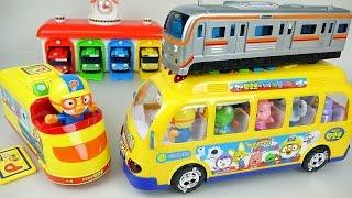 Pororo Tayo Subway  Metro Bus toys play