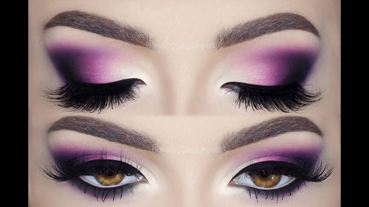 Glam Deep Purple ♡ Matte Make Up Tutorial Melissa