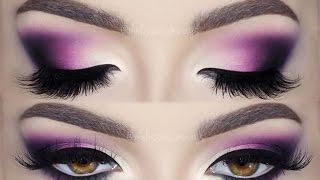 ♡ Glam Deep Purple ♡ Matte Make Up Tutorial  | Melissa Samways