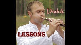 How to play the Duduk.№4 Lessons (Уроки игры на дудуке) - упражнения