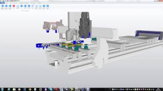 SCM Proview Simulator software on the Accord WD CNC Machining cell