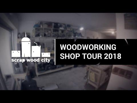 Woodworking shop tour 2018
