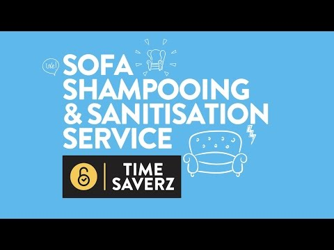Sofa Cleaning Services In Chennai Fabric With Baking Soda Service Mumbai Sanitization Timesaverz Video