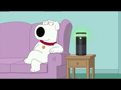 Brian Falls in Love With Amazon Alexa - Family Guy