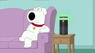Brian Falls in Love With Amazon Alexa - Family Guy