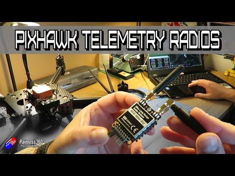Modern PixHawk Telemetry Radios: Options for telemetry and setup tips