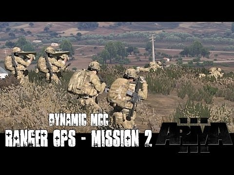 Dynamic Ranger Ops - Mission 2 - ArmA 3 Large Scale Co-op Gameplay