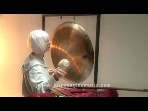 'The Gong' Solo Gong Music - Marilyn Donadt Percussionist