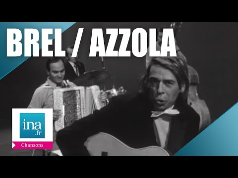 "Jacques Brel & Marcel Azzola  ""Vesoul""  | Archive INA"