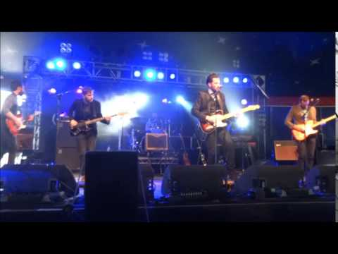 Roddy Hart & The Lonesome Fire ( Dead Of The Night ) @ Belladrum, Inverness. 09-08-2014.