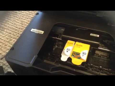 Kodak Hero 5.1 Error Code 3527 Jammed Printer Carriage