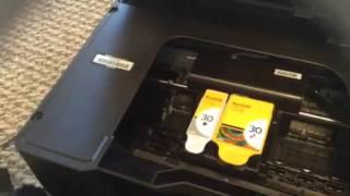 kodak hero 5 1 error code 3527 jammed printer carriage