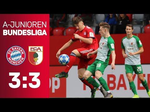 FC Bayern - FC Augsburg 3:3 | A-Junioren-Bundesliga 2018/19 | ReLive