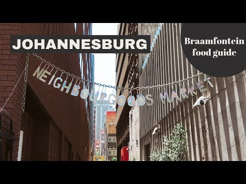 Johannesburg Travel Guide #1: hipsterwijk Braamfontein & food markets // Your Little Black Book