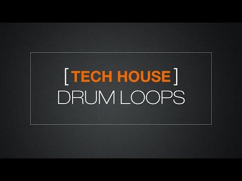 Tech House Drum Loops - Sample Pack Download