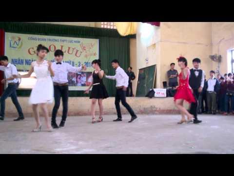 cuộc thi sơ khảo khiêu vũ trường THPT Lục Nam tháng 3/2014