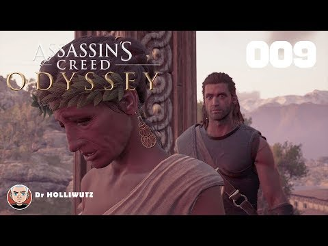 Assassin's Creed Odyssey #009 - Poseidons Zorn [PS4] | Let's play Assassin's Creed Odyssey