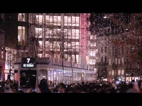 Lucy – Zurich's charming Christmas lights