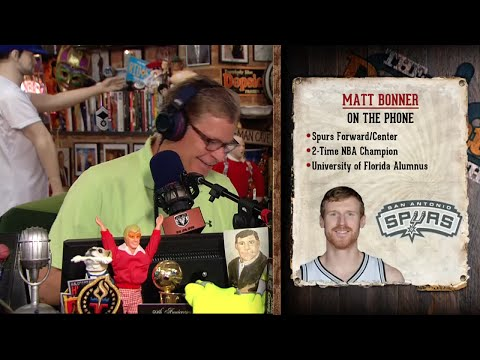 Matt Bonner on The Dan Patrick Show (Full Interview) 8/18/15