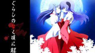 just like the other song this a remix of the second op of higurashi...