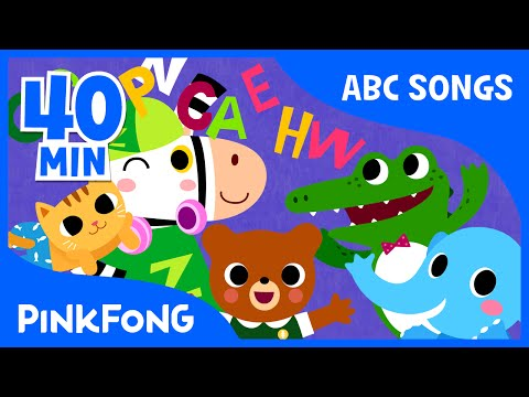 Sing and Master the Alphabet From A to Z! | Phonics | + Compilation | PINKFONG Songs for Children