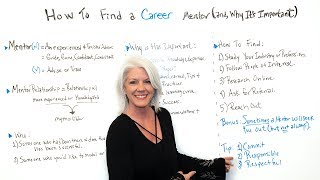 How to Find a Career Mentor and Why It's Important - Project Management Training