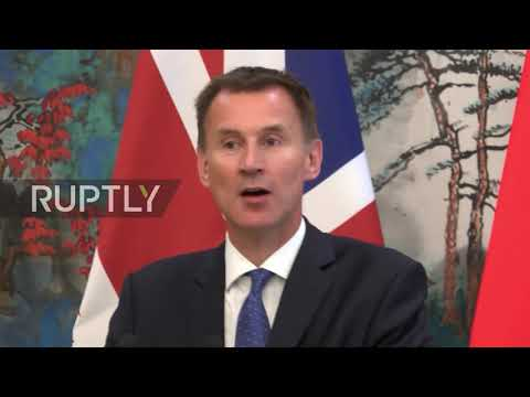 China: Britain plans post-Brexit future with visit to Beijing