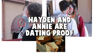 HAYDEN AND ANNIE ARE DATING (PROOF) #Hanniecomfirmed #hannie #love