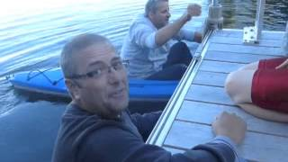 Really funny video! Kayak Epic Fail! How NOT to kayak!(My hubby never kayaked before, can you tell? It was so funny at the time, we were laughing so hard, I almost fell in the water too! Jukin Media Verified (Original) ..., 2013-09-13T01:57:40.000Z)