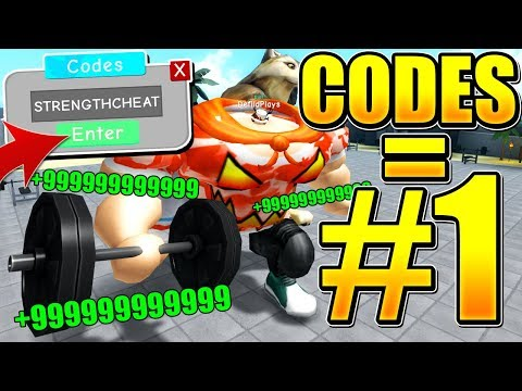 cheat codes for roblox weight lifting simulator 3