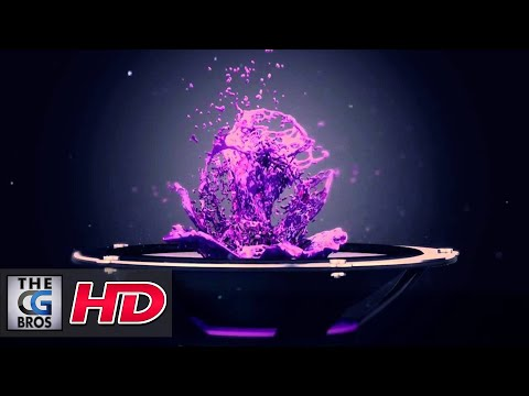 "CGI 3D MoGraph Spot :  ""Sensation""  for -  HTC"