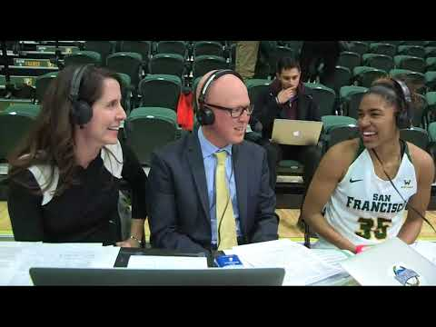 WBB | USF vs Pacific Post Game Interview