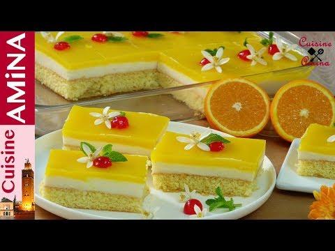 تحلية البرتقال الرائعة و العجيبة خفييفة و لذيذة بدون فلان