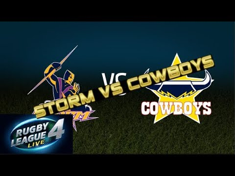 Rugby League Live  Gameplay Storm Vs Cowboys  Grand Final Preview