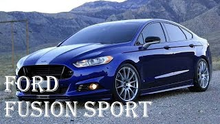 2018 FORD Fusion Sport Hybrid Review - Interior, Engine, Energi - Specs Reviews | Auto Highlights