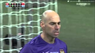 Willy Caballero penalty saves against Liverpool (League Cup Final)