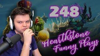 Сильвер смотрит: Hearthstone Funny Plays 248