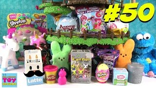 Blind Bag Treehouse #50 Opening | Shopkins Moofia Play-Doh Surprise Egg | PSToyReviews