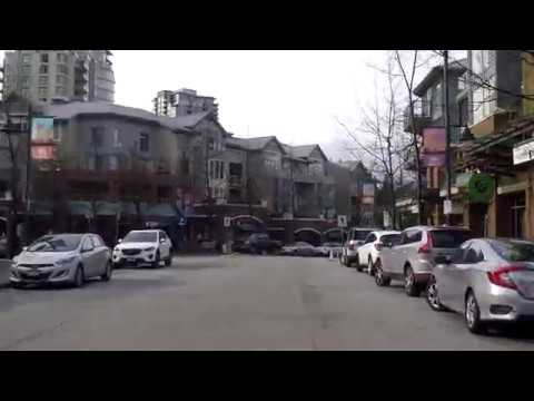 Port Moody BC Canada - Driving Tour in City - Vancouver Suburb