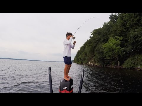 Bass Fishing the Unknown ft. Jon B and Peric