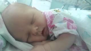 Новорожденный ребёнок.Спящий малыш.