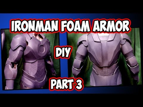 IronMan IV foam armor How to DiY part 3