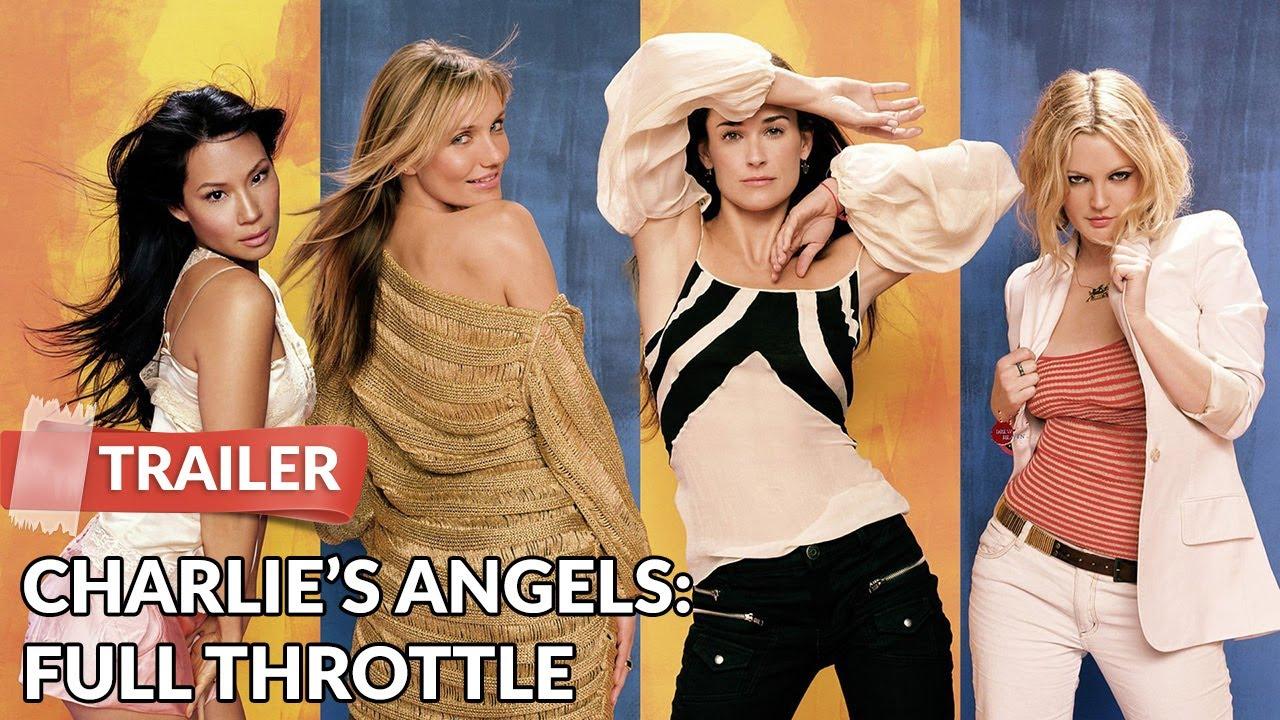 Charlie S Angels Full Throttle 2003 Trailer Hd Drew Barrymore Lucy Liu Youtube