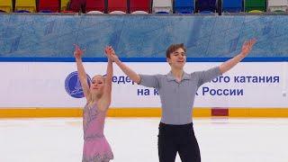 Произвольная программа Юниоры Пары Москва Кубок России по фигурному катанию 2020 21