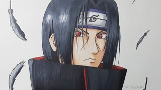 Drawing Itachi Uchiha