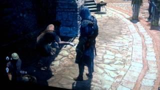 Greek beggar in Assassin's Creed Relevations