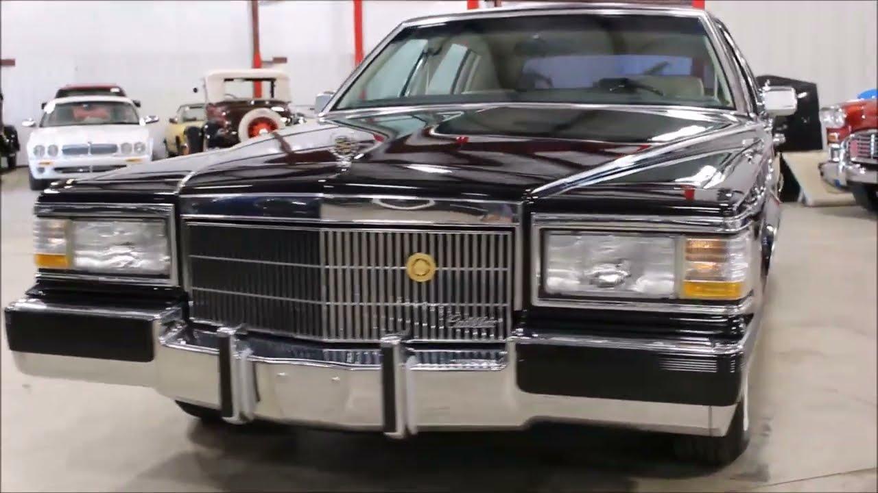 1990 Cadillac Brougham - YouTube